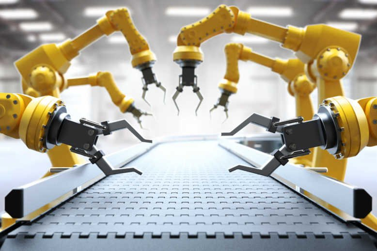 Industrial robotic hands Cyprus