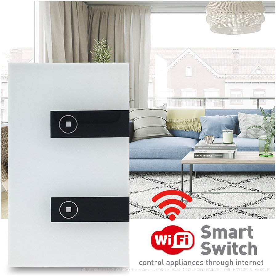 Wall Light Touch control Switch WiFi Robotics Cyprus