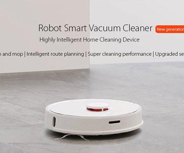 XIAOMI Robot Rock S55 Robot Vacuum Cleaner 2 – Robots Cyprus