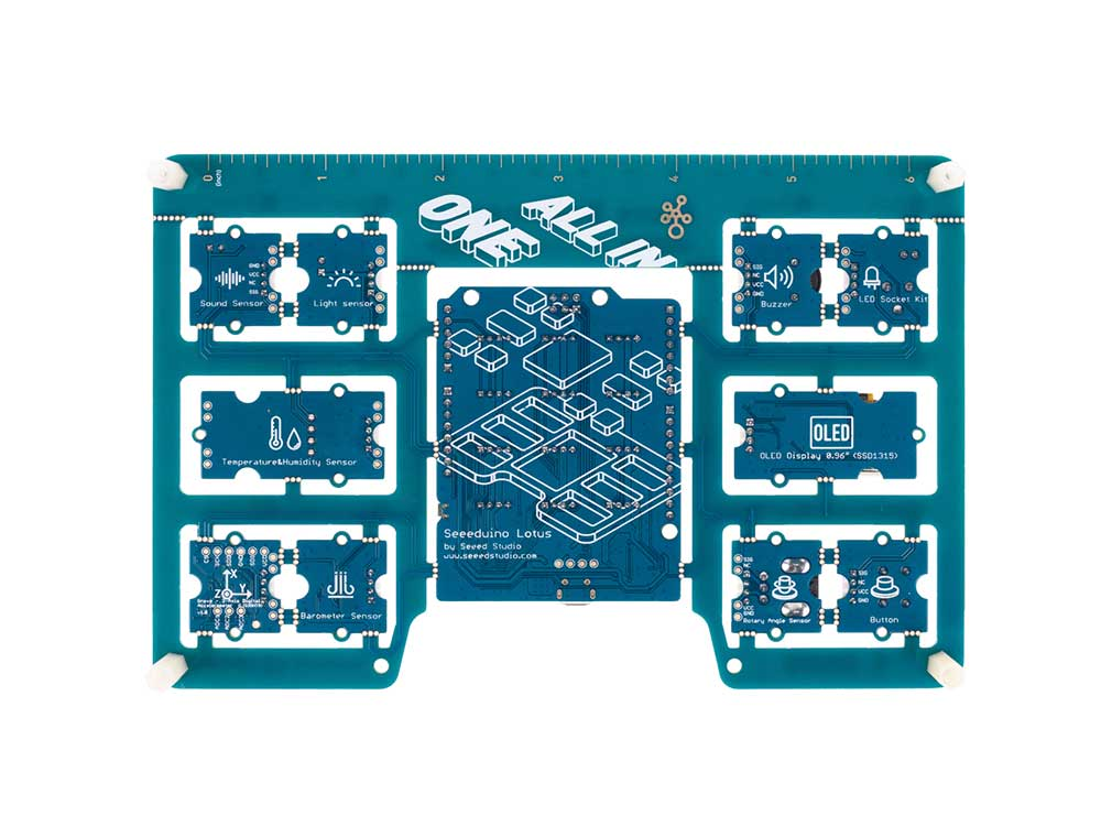Grove Beginner Kit for Arduino - All-in-one Arduino Compatible Board with 10 Sensors and 12 Projects Robots Cyprus Nicosia Limassol Famagusta Paphos Larnaca back