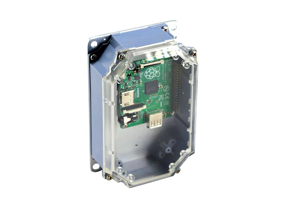 Rubicon Enclosure for use with Raspberry Pi-Arduino-Beaglebone Robots Cyprus Nicosia Limassol Famagusta Paphos Larnaca open grey box board