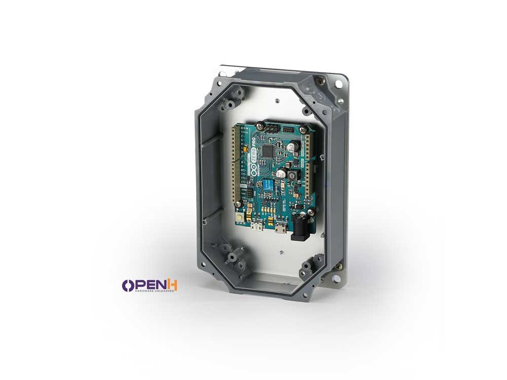 Rubicon Enclosure for use with Raspberry Pi-Arduino-Beaglebone Robots Cyprus Nicosia Limassol Famagusta Paphos Larnaca grey green board