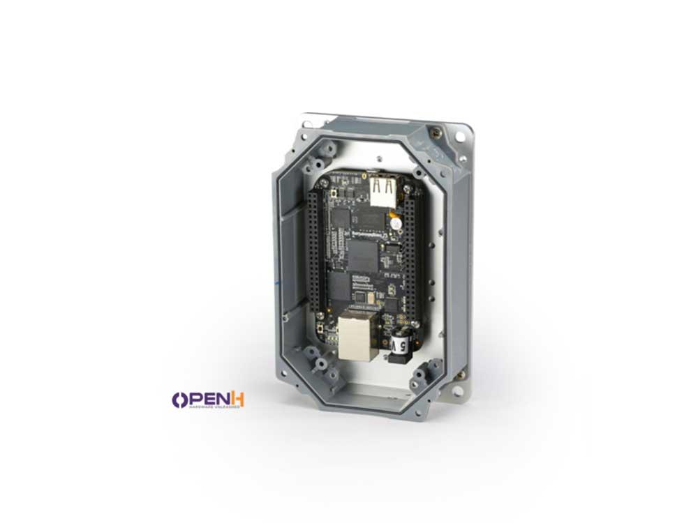 Rubicon Enclosure for use with Raspberry Pi-Arduino-Beaglebone Robots Cyprus Nicosia Limassol Famagusta Paphos Larnaca open grey box