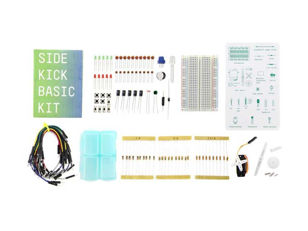 Sidekick Basic Kit for Arduino V2 Robots Cyprus Nicosia Limassol Famagusta Paphos Larnaca components
